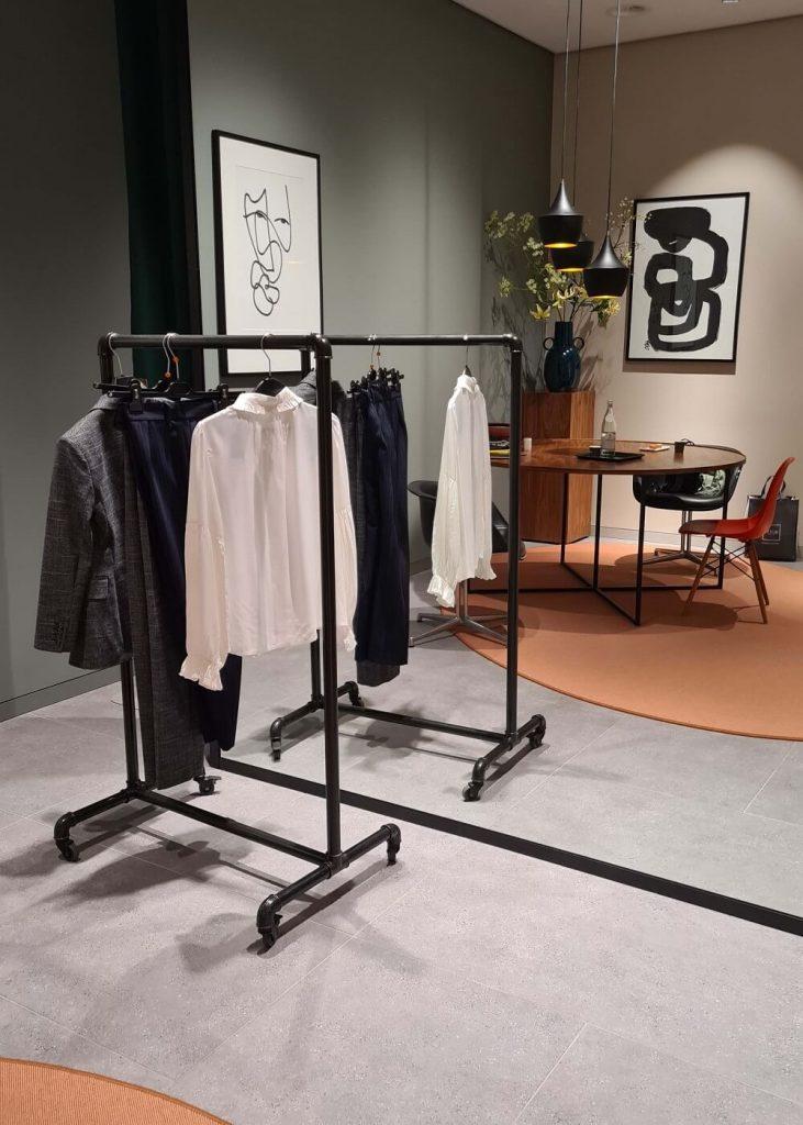 Inside the Rotterdam Bijenkorf's personal shopping lounge